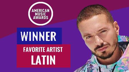 J. Balvin ganó su primer American Music Award