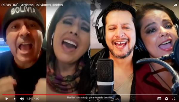 RESISTIRÉ – Artistas Bolivianos Unidos